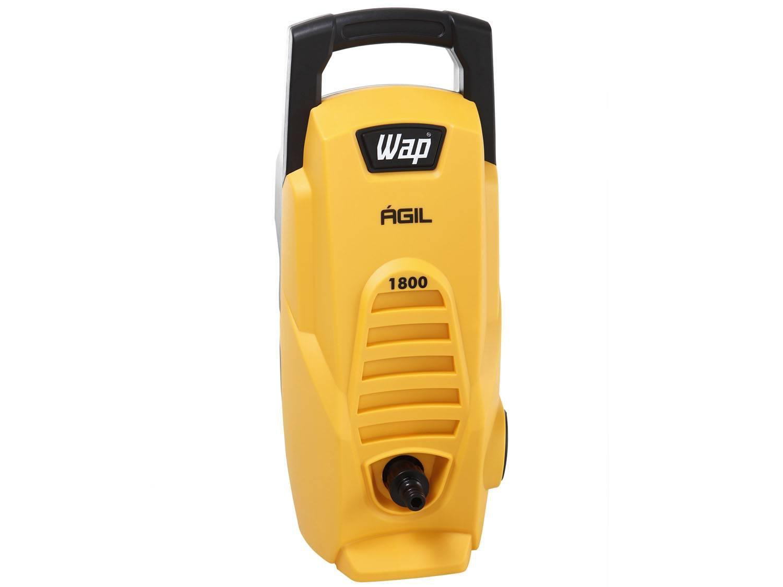 Lavadora Wap de Alta Pressão Ágil 1800 com Trava de Segurança 1300 PSI - Amarela/Preta - 220V - 4
