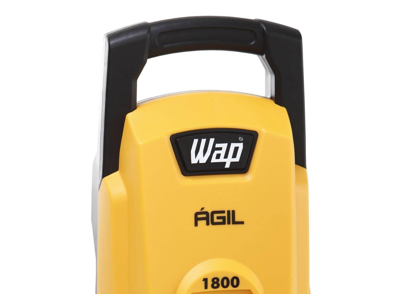 Lavadora Wap de Alta Pressão Ágil 1800 com Trava de Segurança 1300 PSI - Amarela/Preta - 220V - 8