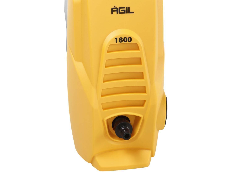 Lavadora Wap de Alta Pressão Ágil 1800 com Trava de Segurança 1300 PSI - Amarela/Preta - 220V - 12