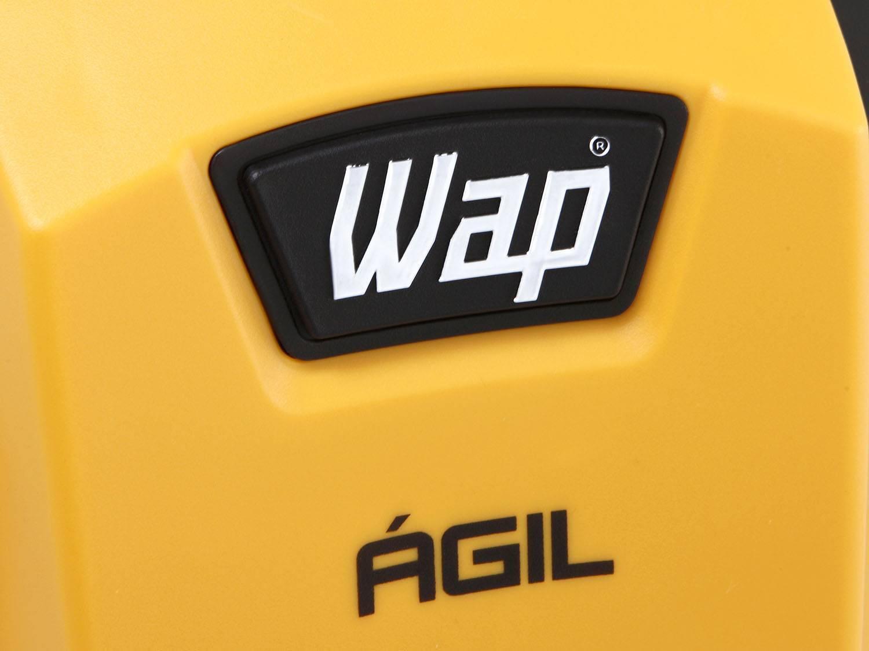 Lavadora Wap de Alta Pressão Ágil 1800 com Trava de Segurança 1300 PSI - Amarela/Preta - 220V - 16