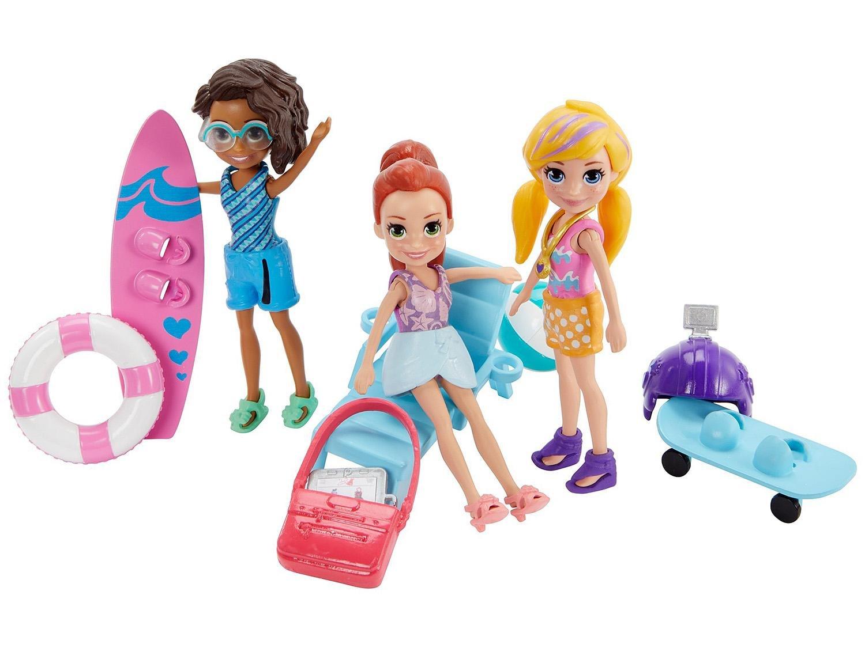 Boneca Polly Pocket Aventura na à gua com Acessórios Mattel GFR09