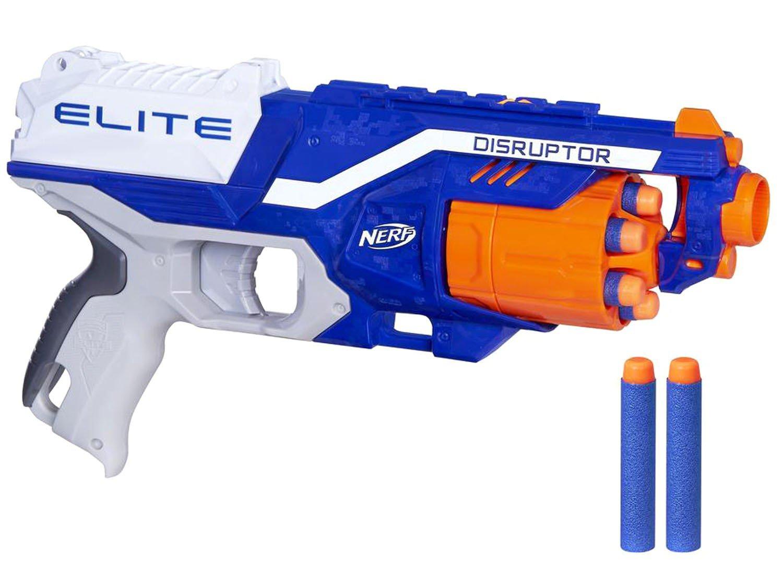 N-Strike Elite Disruptor Nerf com Acessórios - Hasbro