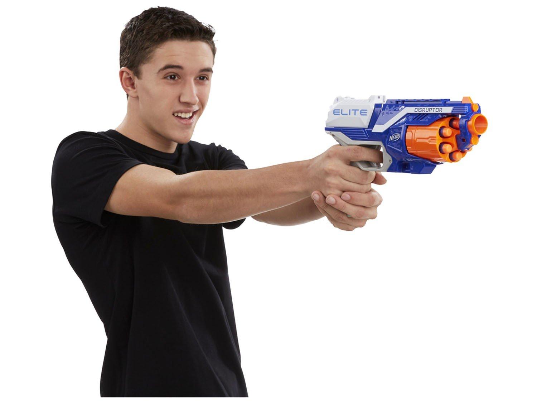 N-Strike Elite Disruptor Nerf com Acessórios - Hasbro - 3