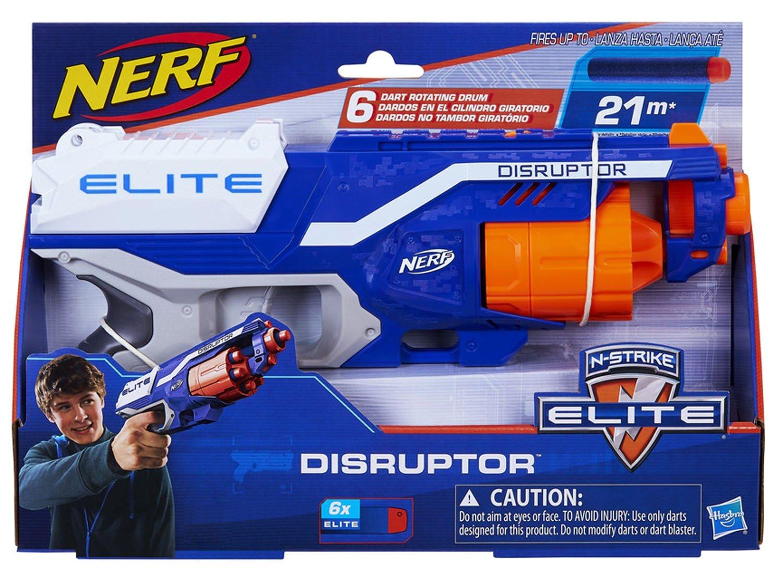N-Strike Elite Disruptor Nerf com Acessórios - Hasbro - 4