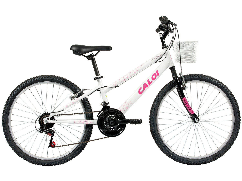Bicicleta Aro 24 Caloi Ceci Juvenil 21 Marchas