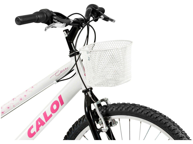 Bicicleta Aro 24 Caloi Ceci Juvenil 21 Marchas - 3
