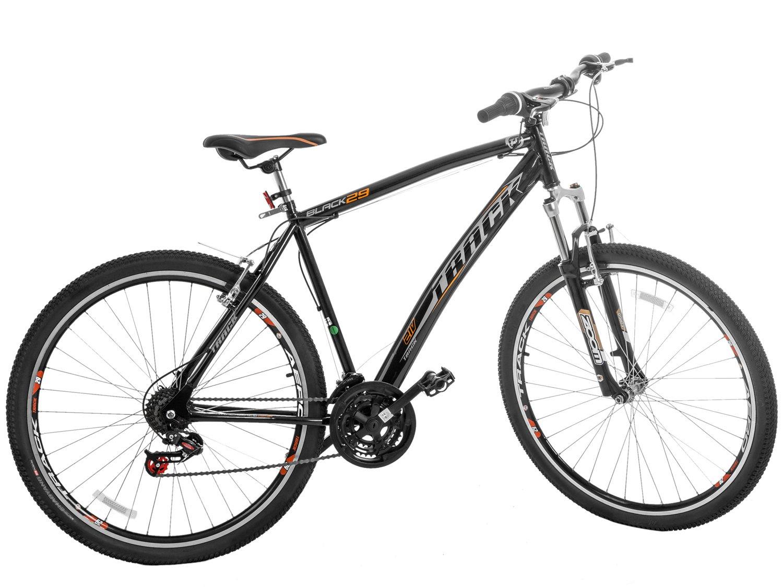 Bicicleta Track & Bikes Black Aro 29 21 Marchas - Freio V-Brake - 3