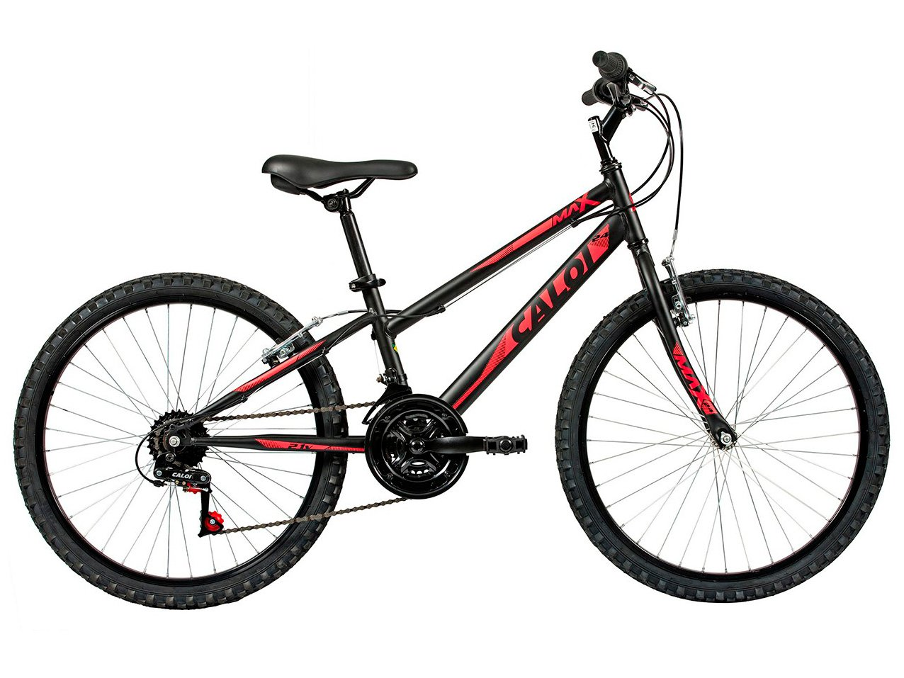 Bicicleta Aro 24 Caloi Max Juvenil - Tam: 12