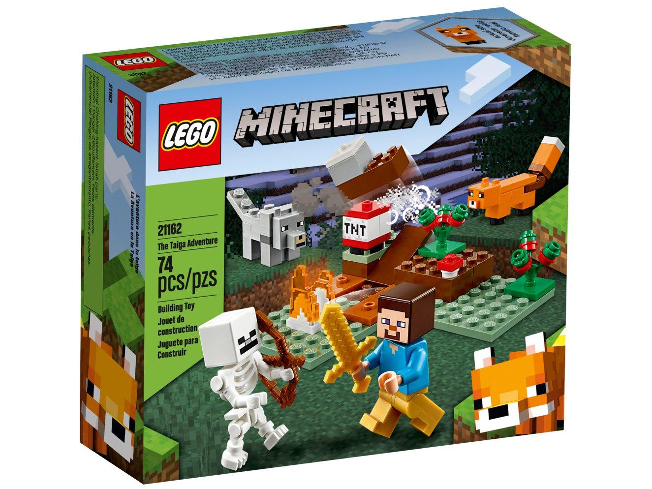 LEGO Minecraft - A Aventura em Taiga 21162 - 74 Peças - 1