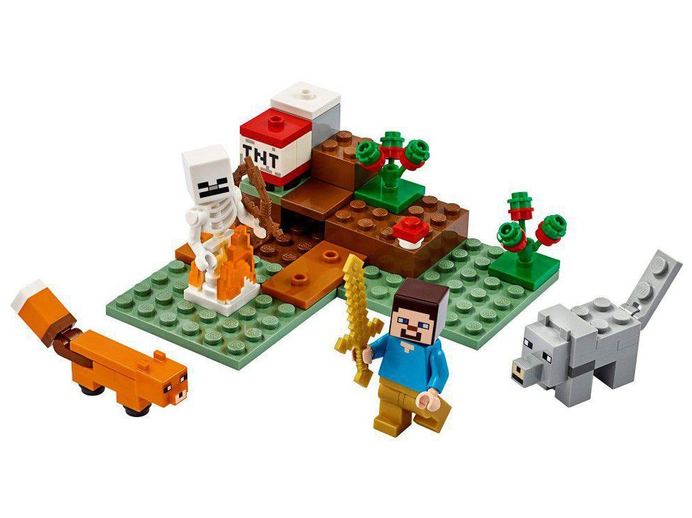 LEGO Minecraft - A Aventura em Taiga 21162 - 74 Peças - 3