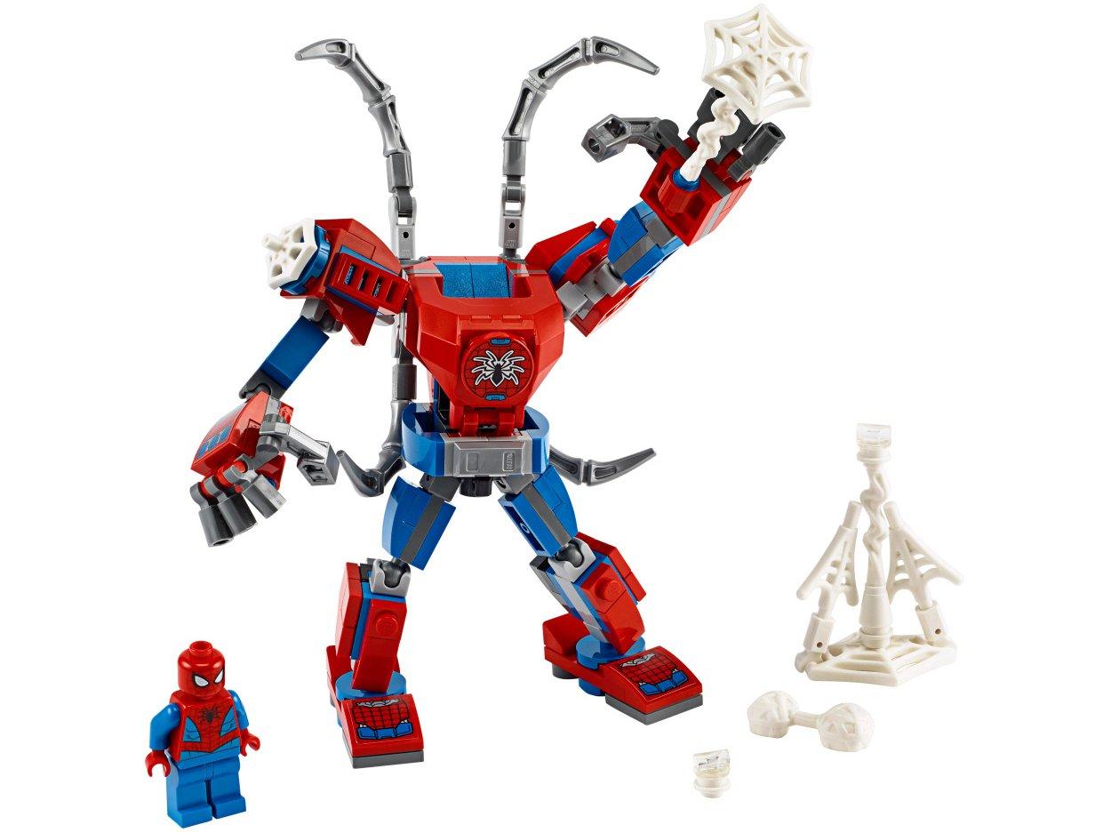 LEGO Super Heros Robô Homem Aranha 152 Peças - 76146
