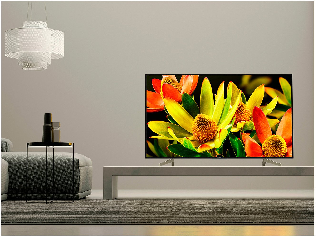 Foto 3 - Smart TV 4K LED 70 Sony XBR-70X835F Android - Wi-Fi HDR 4 HDMI 3 USB