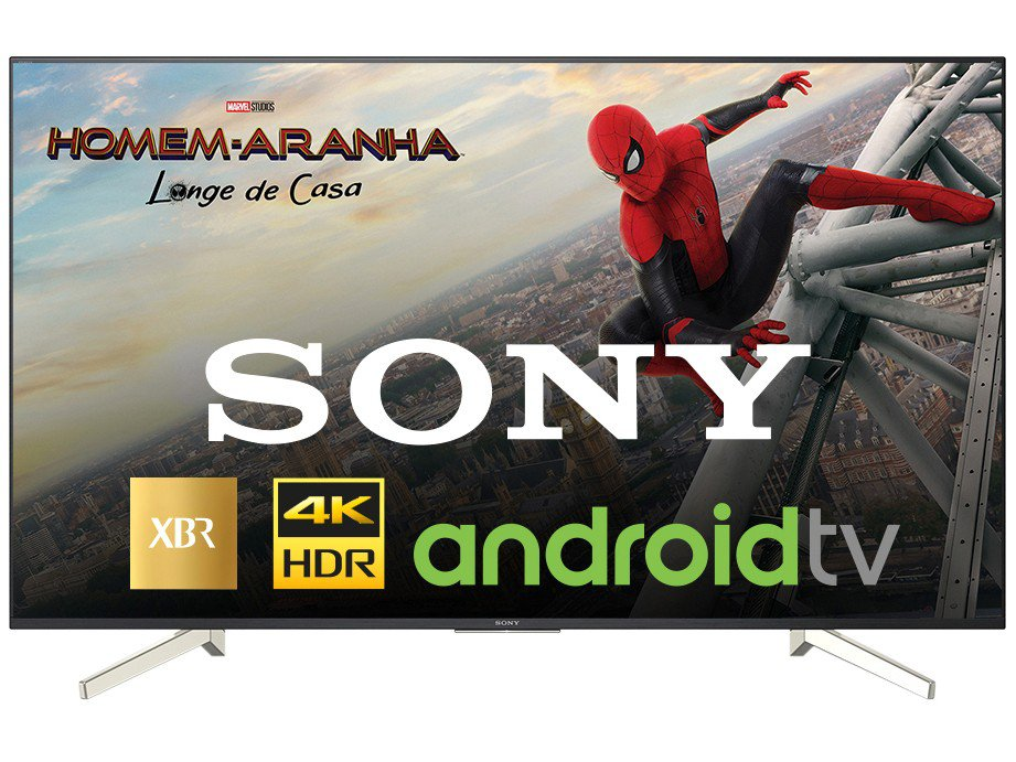 Foto 4 - Smart TV 4K LED 70 Sony XBR-70X835F Android - Wi-Fi HDR 4 HDMI 3 USB