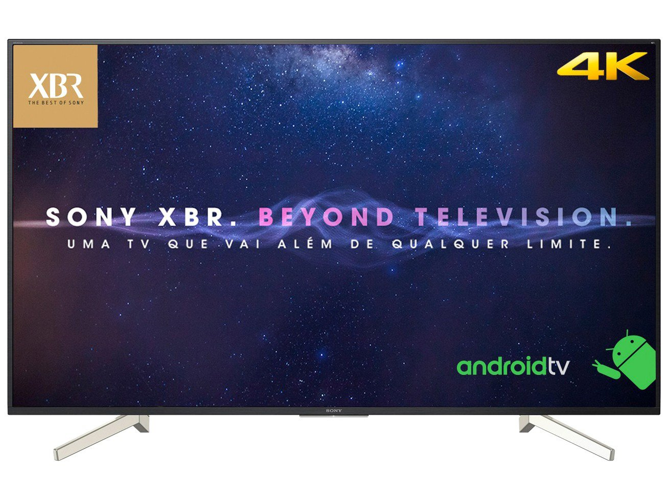 Foto 11 - Smart TV 4K LED 70 Sony XBR-70X835F Android - Wi-Fi HDR 4 HDMI 3 USB