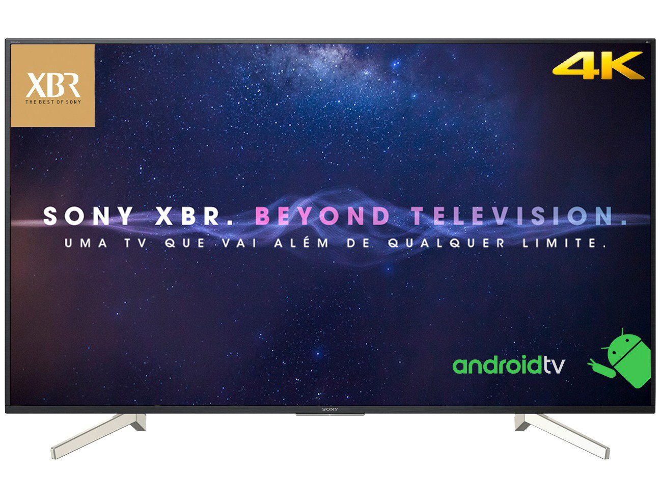 Foto 12 - Smart TV 4K LED 70 Sony XBR-70X835F Android - Wi-Fi HDR 4 HDMI 3 USB