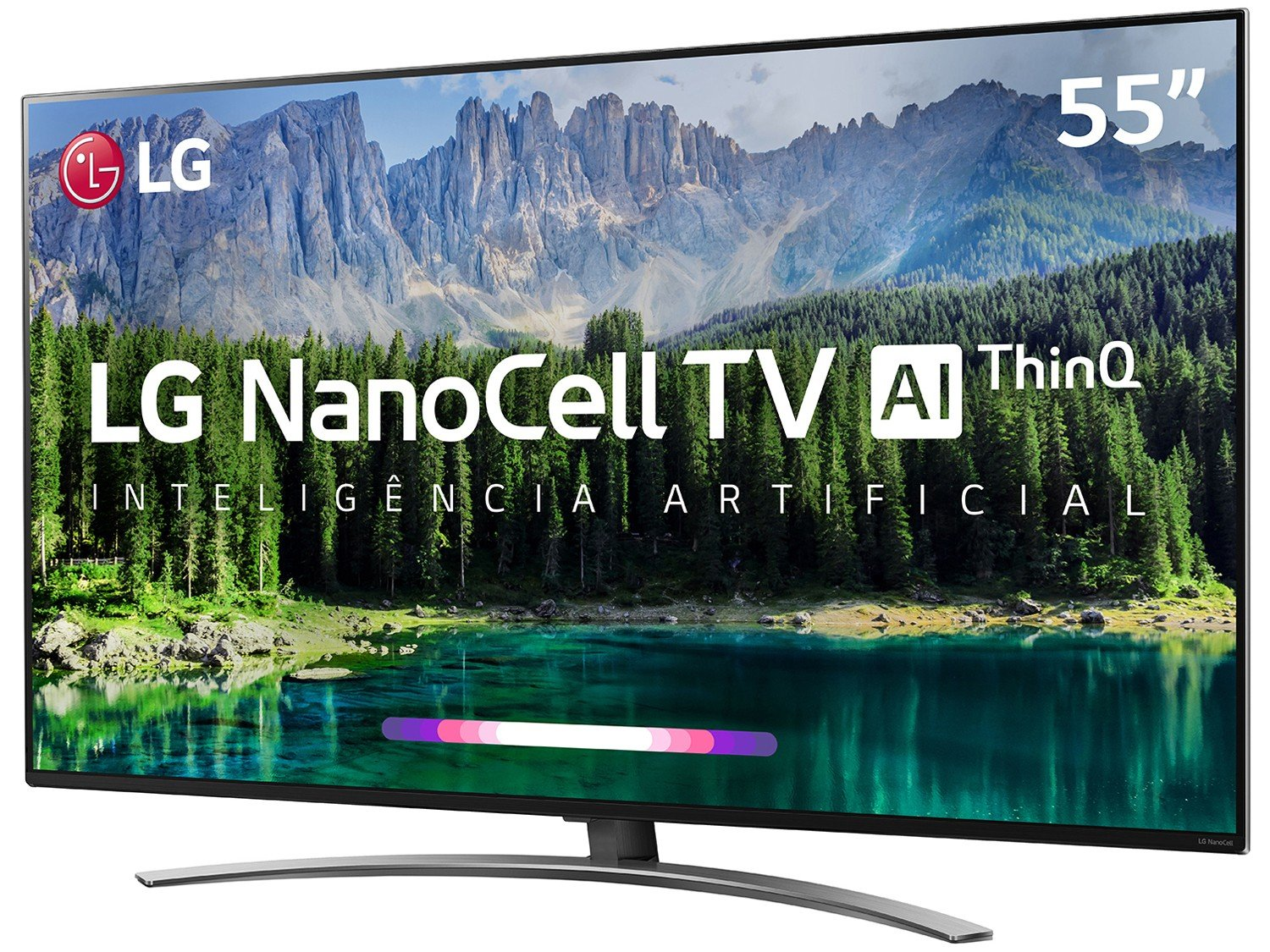 "Smart TV 4K NanoCell 55"" LG 55SM8600PSA Wi-Fi HDR - Inteligência Artificial Controle Smart Magic - Bivolt - 12"