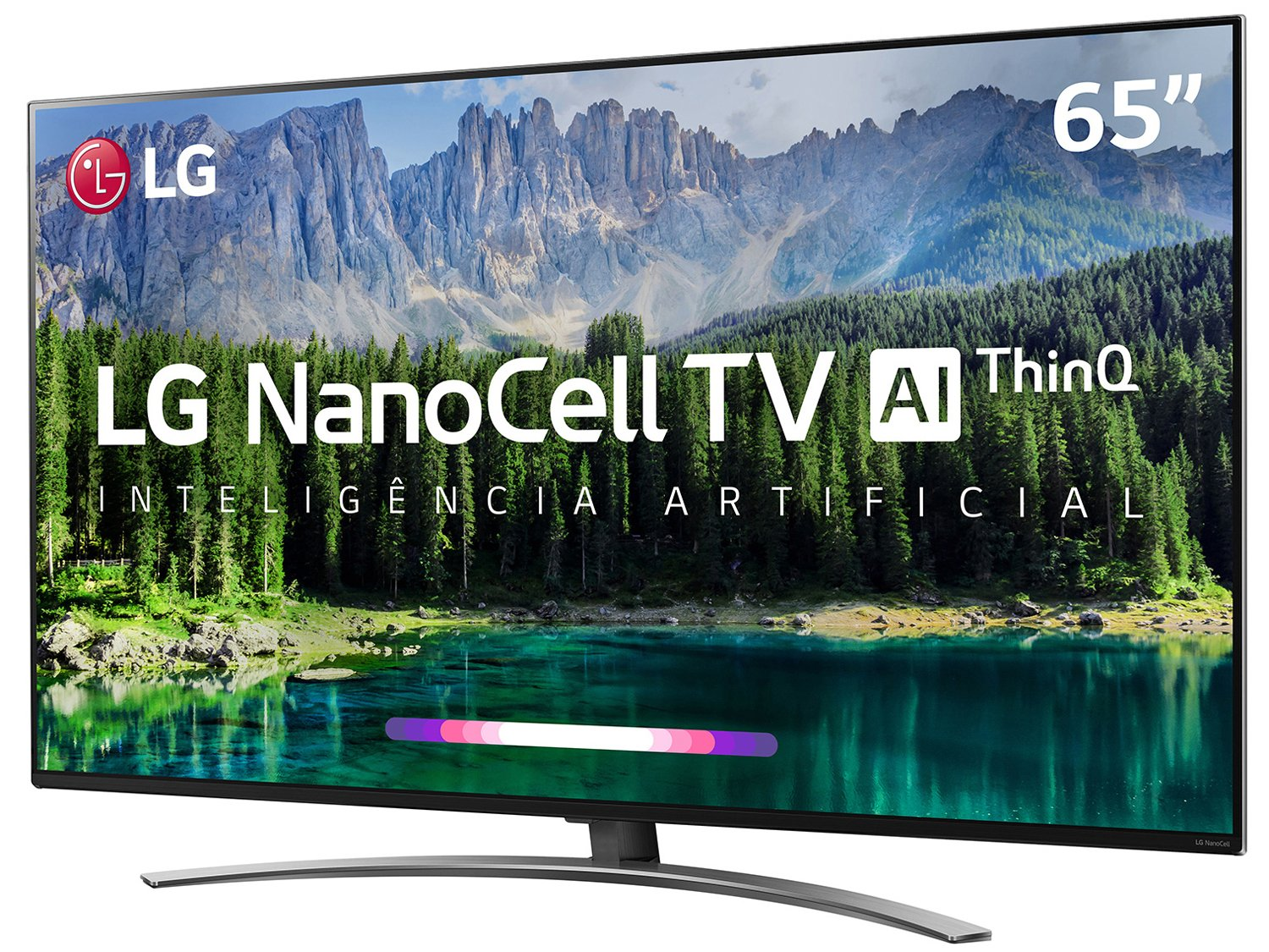 "Smart TV LED 65"" UHD 4K LG 65SM8600PSA NanoCell, ThinQ AI Inteligência Artificial IoT, IPS, HDR, Dolby Vision, Dolby Atmos e Controle Smart Magic - 3"