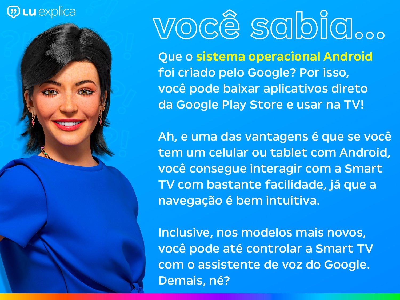 "Smart TV 4K LED 50"" TCL 50P8M Android Wi-Fi - Bluetooth HDR Inteligência Artificial 3 HDMI 2 USB - Bivolt - 8"