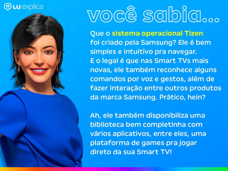 "Smart TV Crystal 4K 70"" Samsung UN70AU7700GXZD - Wi-Fi Bluetooth HDR 3 HDMI 1 USB - Bivolt - 2"