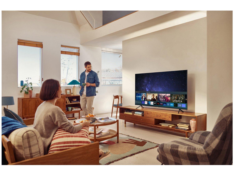 "Smart TV Crystal 4K 70"" Samsung UN70AU7700GXZD - Wi-Fi Bluetooth HDR 3 HDMI 1 USB - Bivolt - 4"