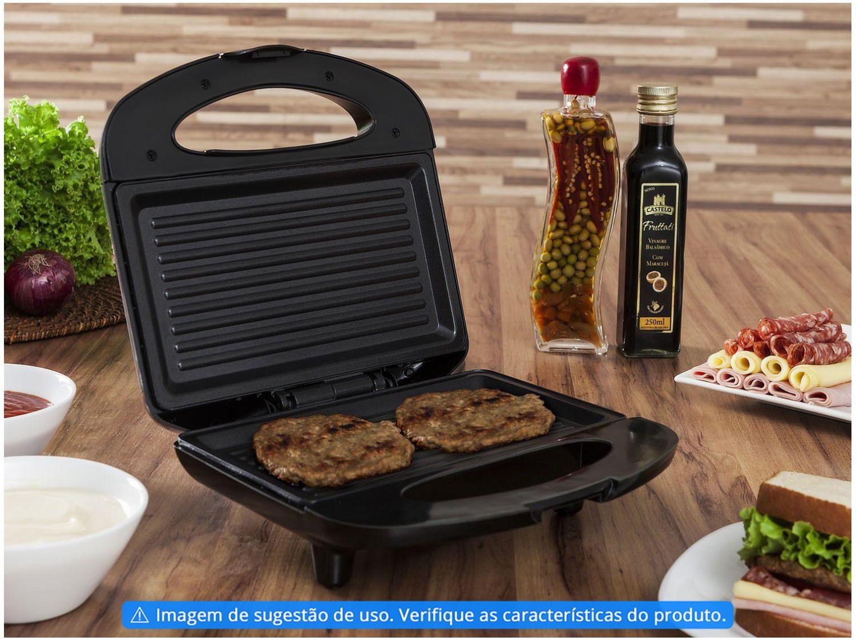 Sanduicheira e Grill Mondial Premium S-07 - 110V - 8