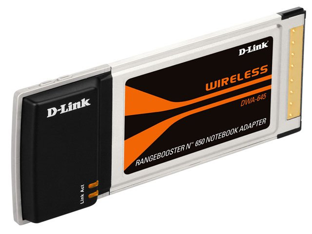Foto 1 - Placa Wireless D-Link DWA-645 PCMCIA - Wireless 802.11N para Notebooks