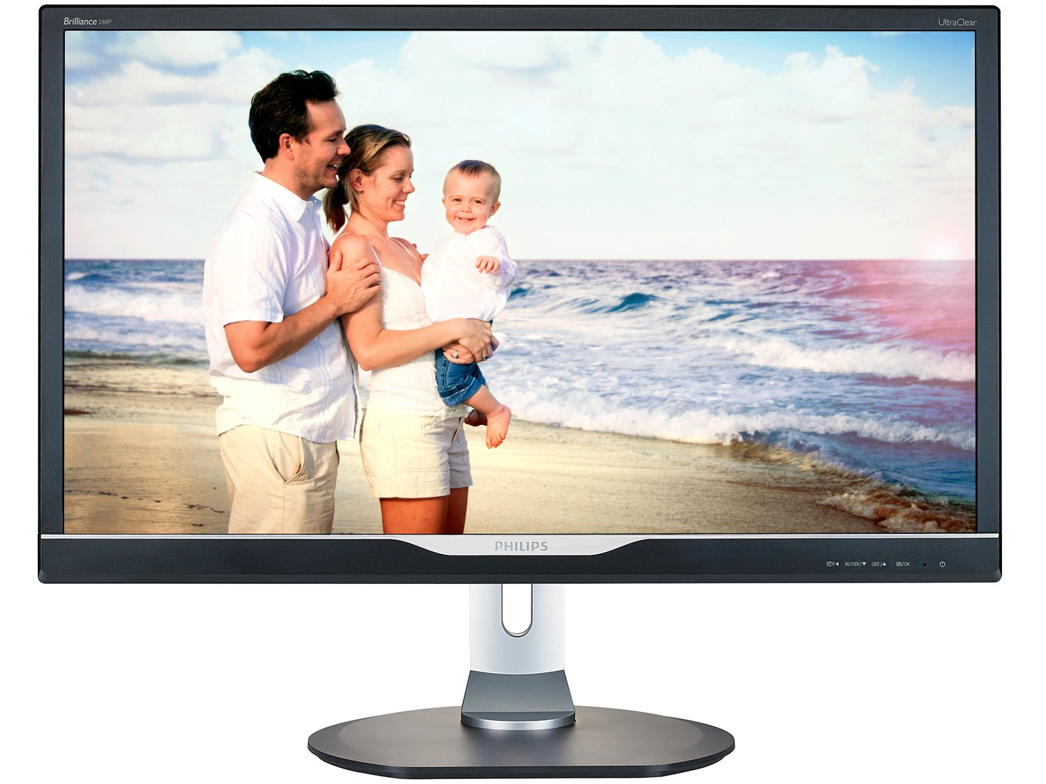 Foto 3 - Monitor para PC Ultra HD Philips LCD Widescreen - 28 288P6LJEB/57