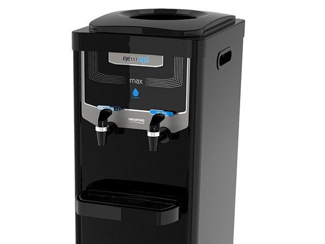 Bebedouro de Coluna Refrigerado por Compressor - Newup Max Black - 220 V - 1