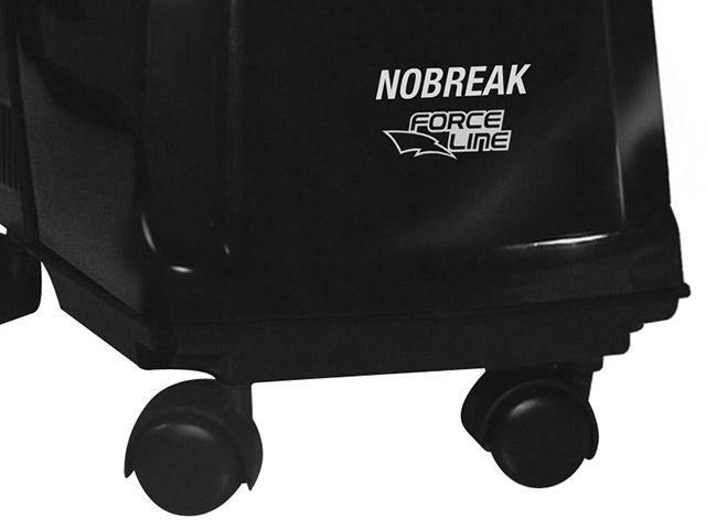 Foto 3 - Nobreak 700VA Force Line c/ Estabilizador - Filtro de Linha Bivolt 4 Tomadas 1 Bateria Selada