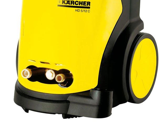 Foto 2 - Lavadora Alta Pressão Kärcher HD 5/12 C - 1600 Libras Aplicador de Detergente Mangueira 7,5m