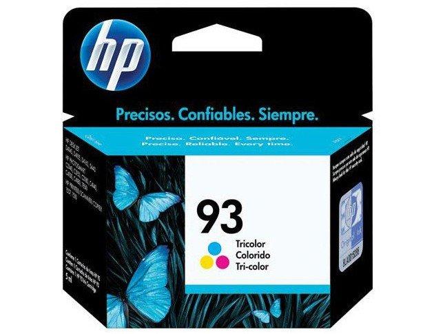 Foto 1 - Cartucho de Tinta HP Colorido 93 - Original
