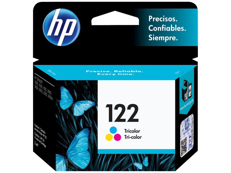 Foto 1 - Cartucho de Tinta HP Colorido 122 - Original