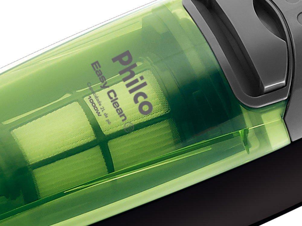 Aspirador de Pó Philco Easy Clean 1.000W - Verde - 110v - 16
