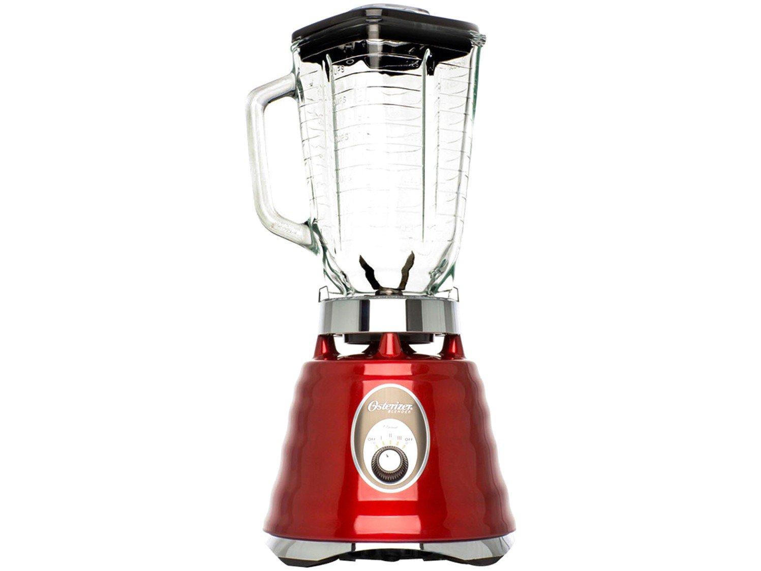 Liquidificador Oster Classic 4126 600W – Vermelho - 110V
