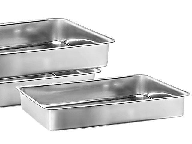 Conjunto de Assadeiras Marcolar - Retangular Alumínio 3 Peças 207 - 2