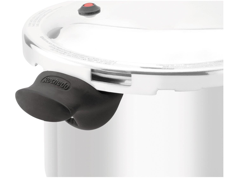 Panela de Pressão Rochedo Turbo Top Alumínio Polido - 7,6 L - 7
