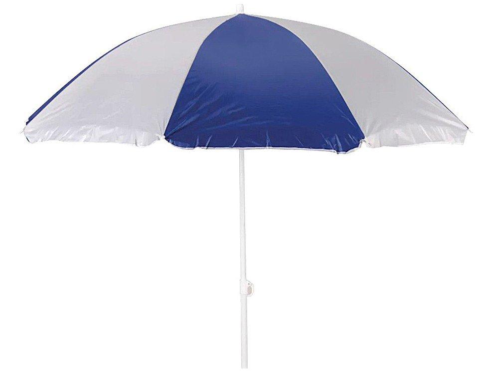 Guarda-Sol Mor 1,8m Fashion - Branco e Azul