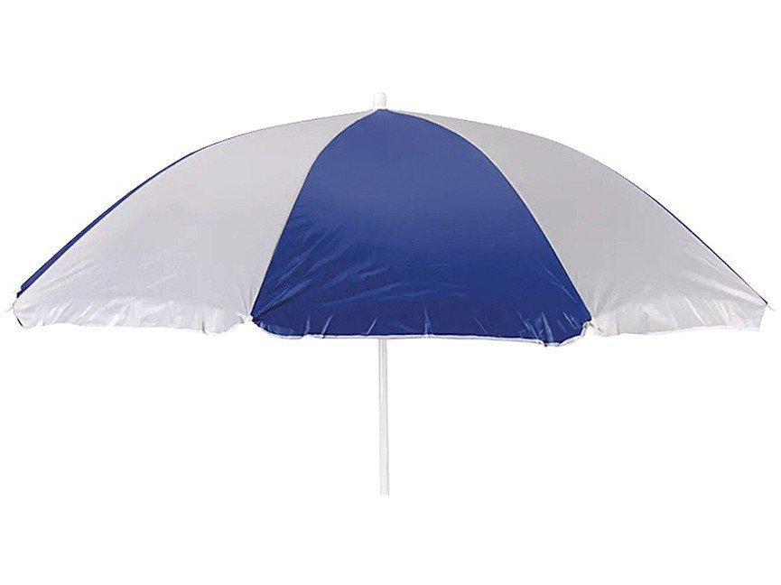 Guarda-Sol Mor 1,8m Fashion - Branco e Azul - 3