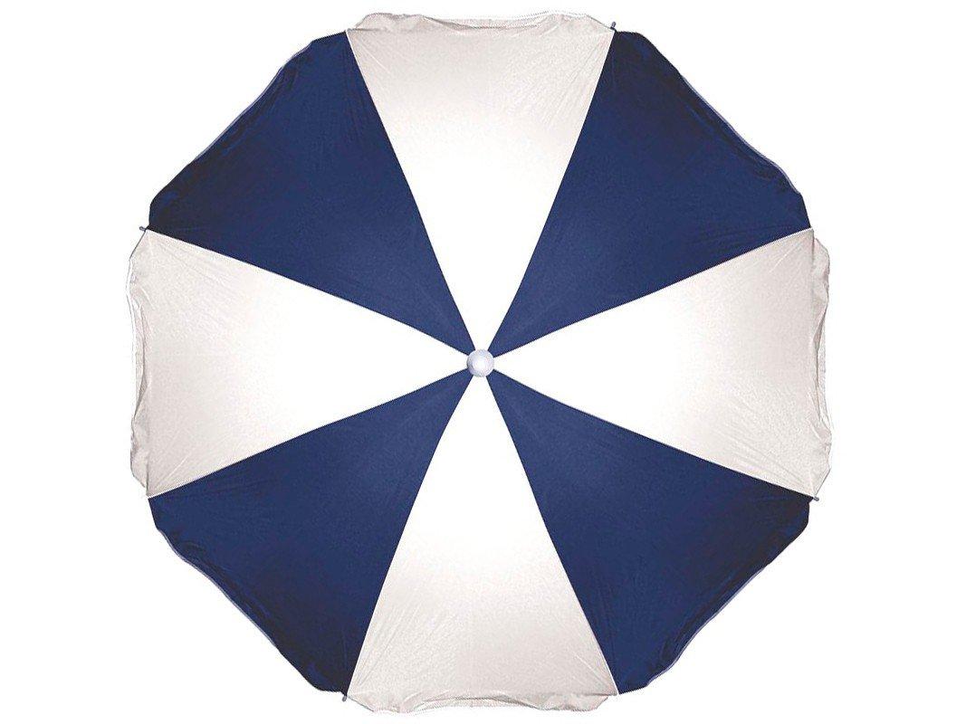 Guarda-Sol Mor 1,8m Fashion - Branco e Azul - 5