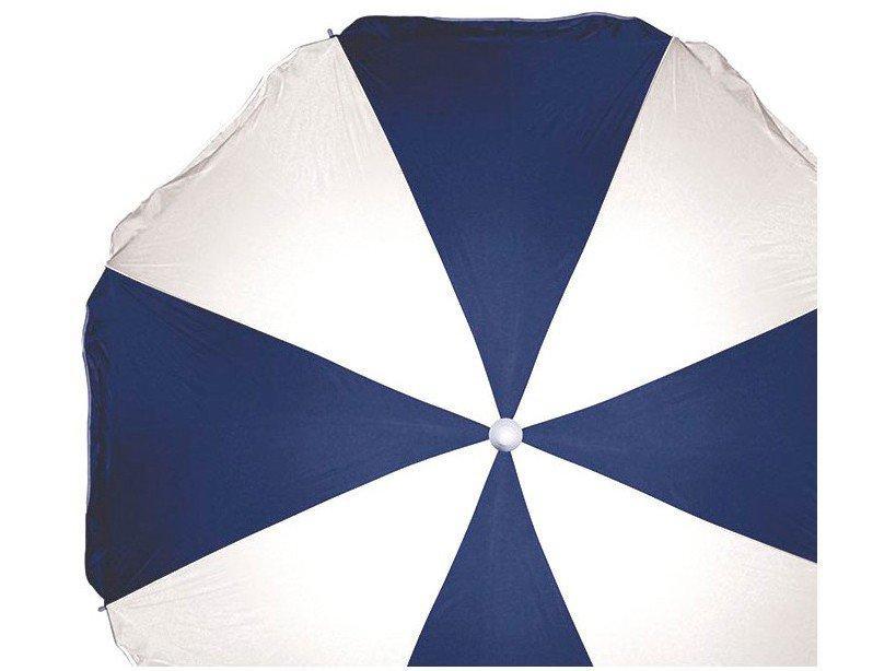 Guarda-Sol Mor 1,8m Fashion - Branco e Azul - 6