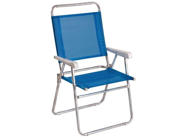 Cadeira Master Plus Alumínio - Mor 2112