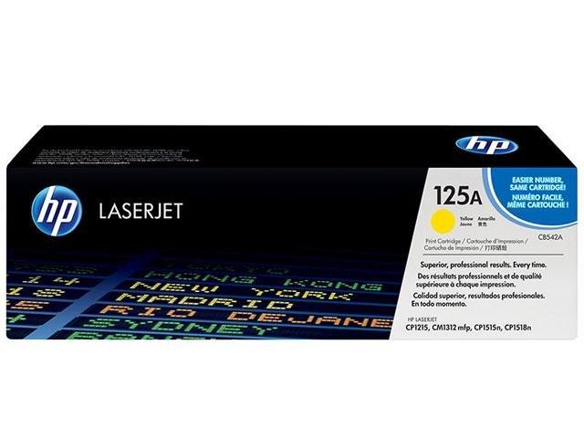 Foto 1 - Toner HP Amarelo 125A LaserJet - Original
