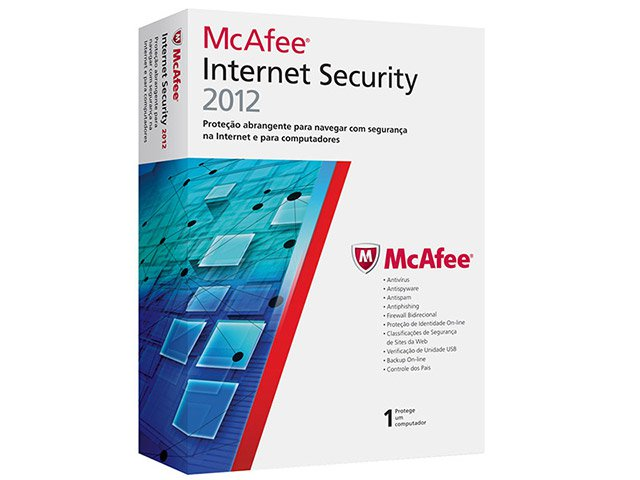 Foto 1 - Antivírus Internet Security 2012 - McAfee