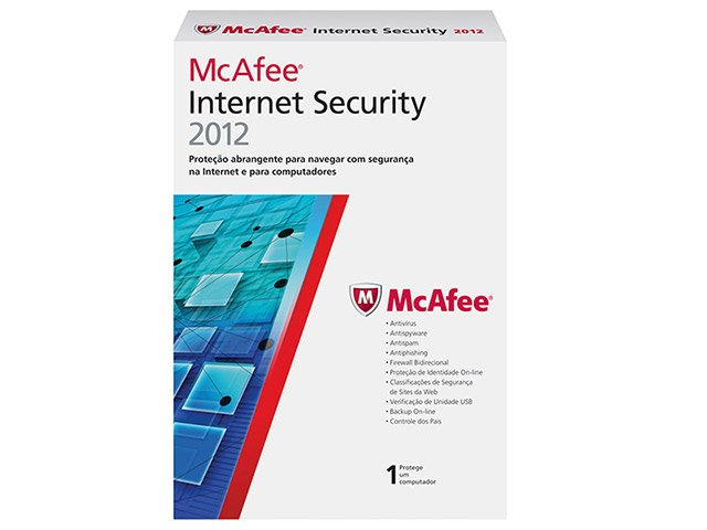 Foto 2 - Antivírus Internet Security 2012 - McAfee
