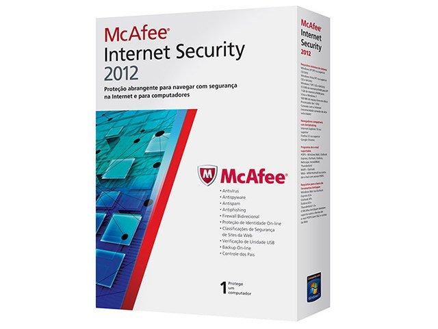Foto 3 - Antivírus Internet Security 2012 - McAfee