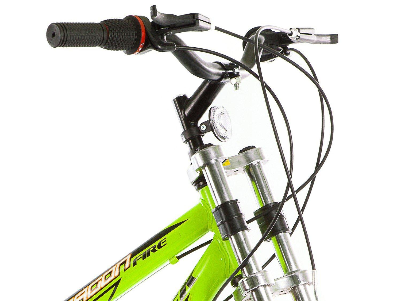 Bicicleta Track & Bikes Dragon Fire Aro 24 - 18 Marchas Suspensão Dianteira Downhill - 6
