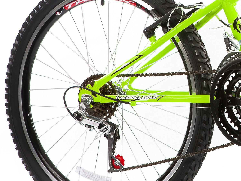 Bicicleta Track & Bikes Dragon Fire Aro 24 - 18 Marchas Suspensão Dianteira Downhill - 12