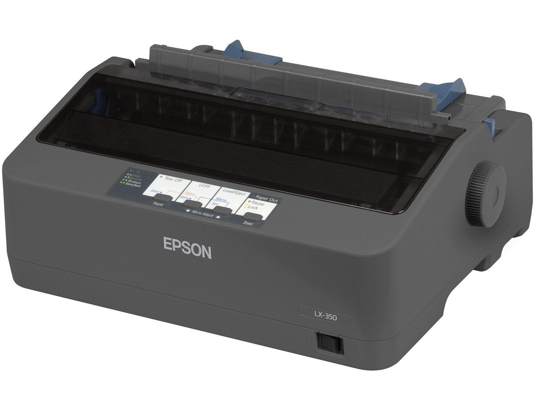 Foto 3 - Impressora Epson LX-350 Matricial USB 2.0 - Rascunho de Alta Velocidade