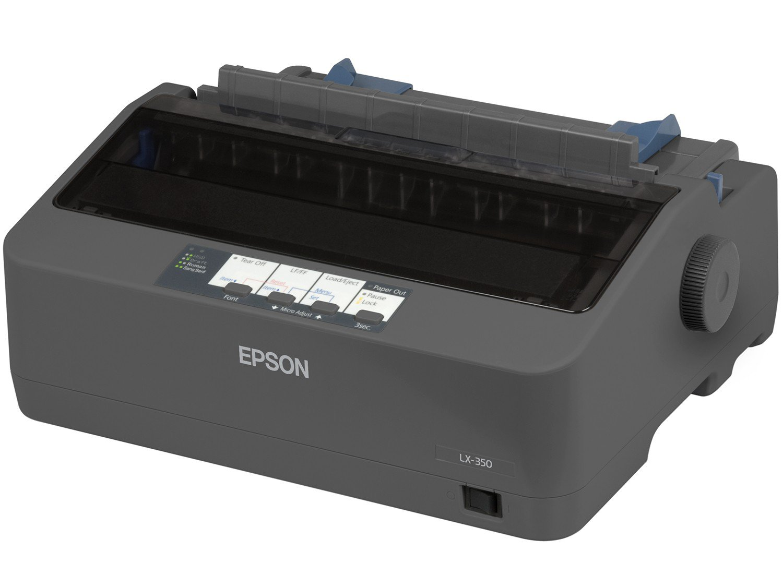 Foto 3 - Impressora Epson LX-350 Matricial Preto e Branco - USB