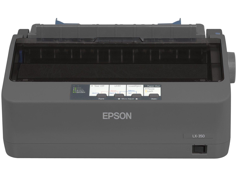 Foto 4 - Impressora Epson LX-350 Matricial USB 2.0 - Rascunho de Alta Velocidade